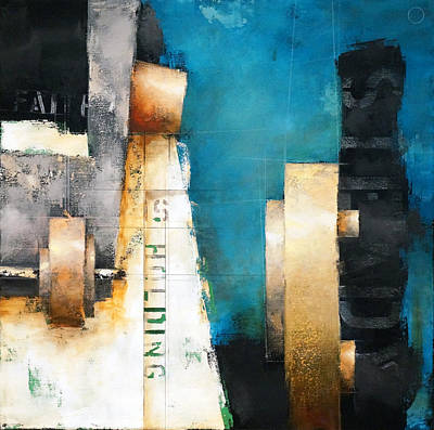 Painting - 15.012 - Faith by Ken Berman