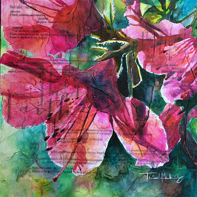 Painting - Faith - Pink Azalea by Trish McKinney