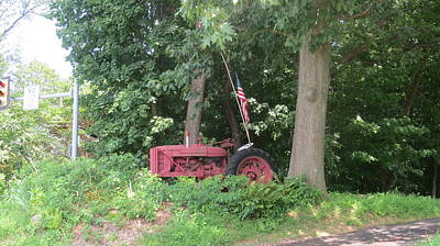 Photograph - Faithful American Tractor by Jeanette Oberholtzer