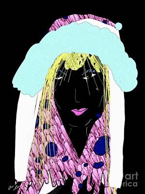 Mixed Media - Faithful Child by Ann Calvo