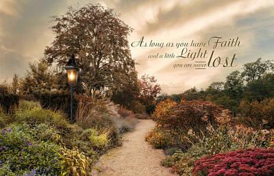 Photograph - Faith's Light by Robin-Lee Vieira
