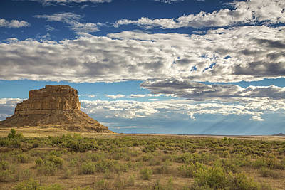 Photograph - Fajada Butte by Kunal Mehra