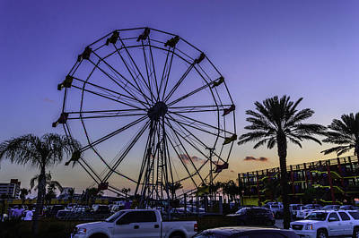 Photograph - Fajitaville Ferris Wheel 2 by Leticia Latocki