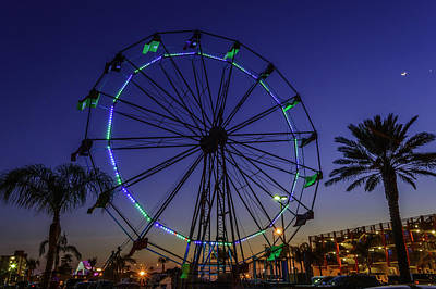 Photograph - Fajitaville Ferris Wheel by Leticia Latocki