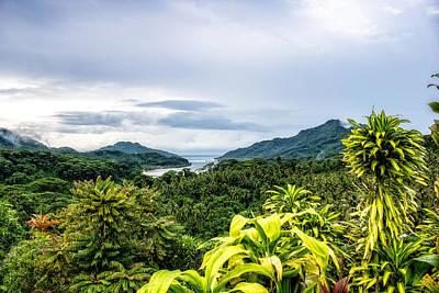 Photograph - Fakarava Mountain View by Martin Naugher