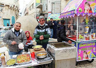 Photograph - Falafel Sandwich by Munir Alawi