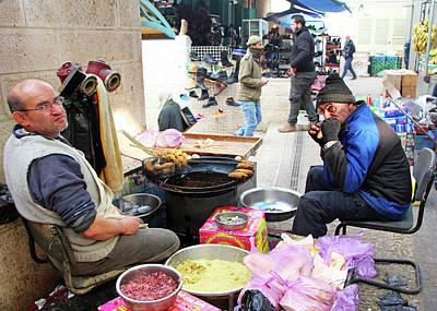 Photograph - Falafel Stuffed With Onion by Munir Alawi