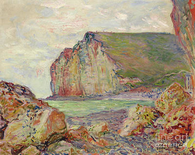 Painting - Falaises Des Petites Dalles, 1884 by Claude Monet