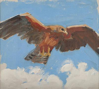 Falcon Painting - Falcon by Akseli Gallen-Kallela