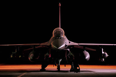 F-16 Photograph - Falcon Nest by Peter Chilelli