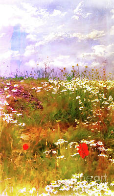 Photograph - Falkirk Field Of Flowers by Judi Bagwell