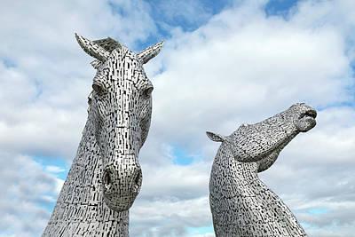 Kelpie Photograph - Falkirk - Scotland by Joana Kruse
