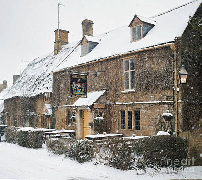 Photograph - Falkland Arms Great Tew by Tim Gainey