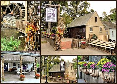 Photograph - Fall 2015 At Plimoth Grist Mill by Janice Drew
