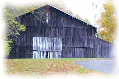 Fall 2015 Barn 46 Art Print