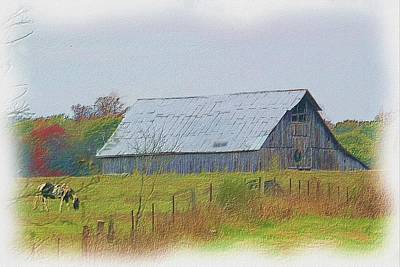 Photograph - Fall 2015 Barn 49 by Ericamaxine Price
