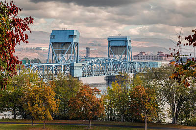 Fall 2015 Blue Bridge Art Print