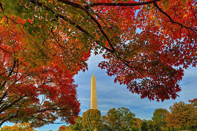Photograph - Fall 2015 Washington Dc by Bill Dodsworth