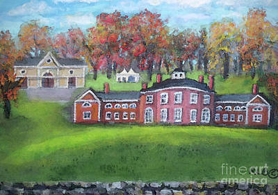 Painting - Fall Afternoon At Gore Estate by Rita Brown