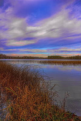 Photograph - Fall Afternoon Over Gilmore Lake by Dale Kauzlaric