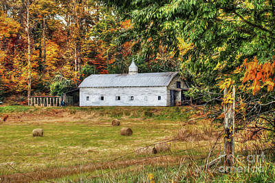 Hay October Photograph - Fall Along 57 by Darren Fisher