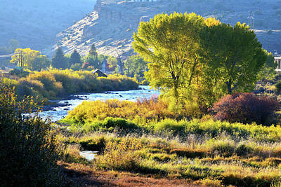 Photograph - Fall Along Eagle River by Ray Mathis