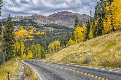 Photograph - Fall Along Hwy 12 In Colorado Dsc07158-9 by Greg Kluempers
