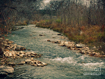Photograph - Fall Along The River by Charles McKelroy