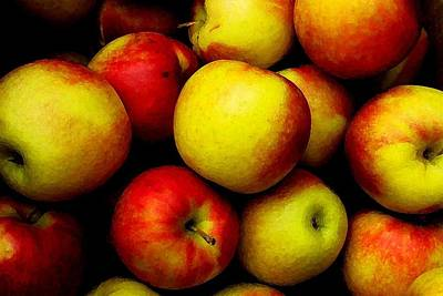 Fall Apples Art Print by Dennis Curry