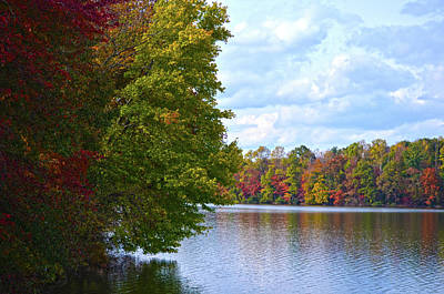 Photograph - Fall Around The Lake by Sandi OReilly
