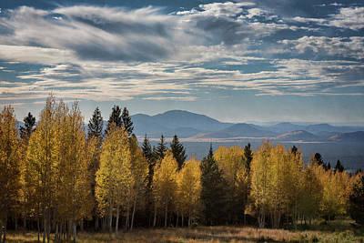 Photograph - Fall Arrives On The Mountain by Saija Lehtonen