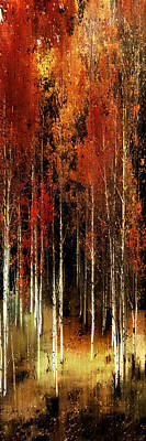 Photograph - Fall Aspens by Barbara D Richards