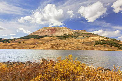 Photograph - Fall At Beartooth Butte by Jack Bell