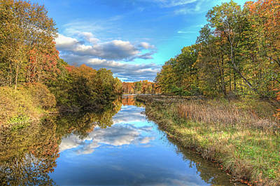 Photograph - Fall At Brunswick Lake  by Brent Durken