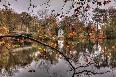 Photograph - Fall At Causey's Mill by Jerry Gammon