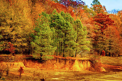 Photograph - Fall At Chickasaw Hill by Barry Jones