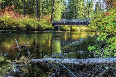 Photograph - Fall At Clear Lake, No. 1 by Belinda Greb