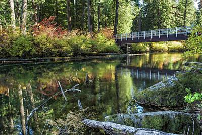 Photograph - Fall At Clear Lake, No. 2 by Belinda Greb