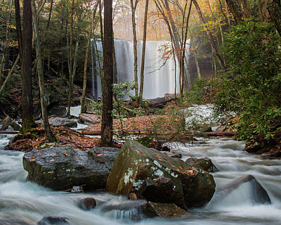 Photograph - Fall At Cucumber Falls by Jim Cheney