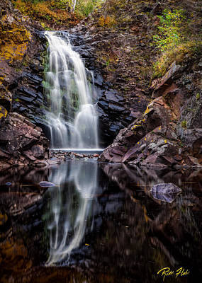 Photograph - Fall At Fall River Falls by Rikk Flohr