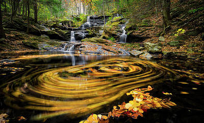 Photograph - Fall At Garwin Falls by Robert Clifford