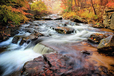 Photograph - Fall At Gunstock Brook II by Robert Clifford
