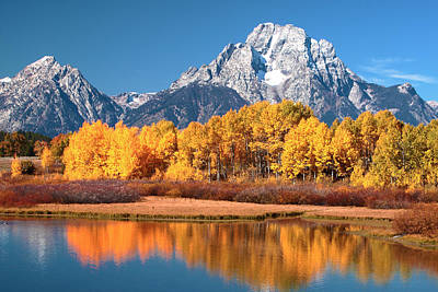 Photograph - Fall At Ox-bow Bend by Floyd Tillery