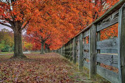 Photograph - Fall At Riverview Park by Jerry Gammon