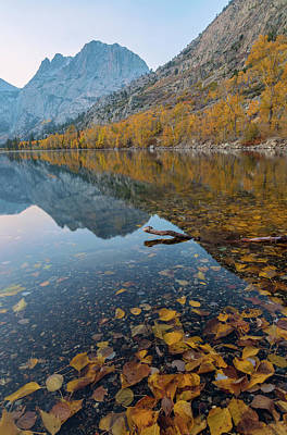 Photograph - Fall At Silver Lake by Jonathan Nguyen