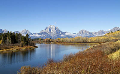 Photograph - Fall At Teton -2 by Shirley Mitchell
