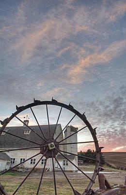 Photograph - Fall At The Dahman Barn I I I by Doug Davidson