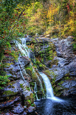 Photograph - Fall At The Falls by Debra and Dave Vanderlaan