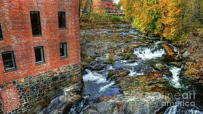 Photograph - Fall At The Falls  by Scott Harrison