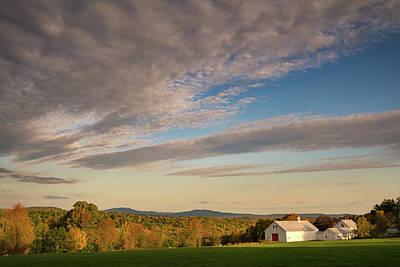 Photograph - Fall At The Farm by Darylann Leonard Photography